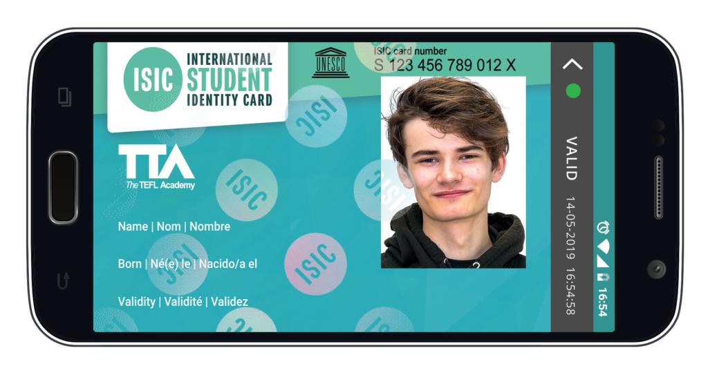 ISIC_virtual_cards TEFL Academy